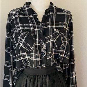 Torrid button  down blouse